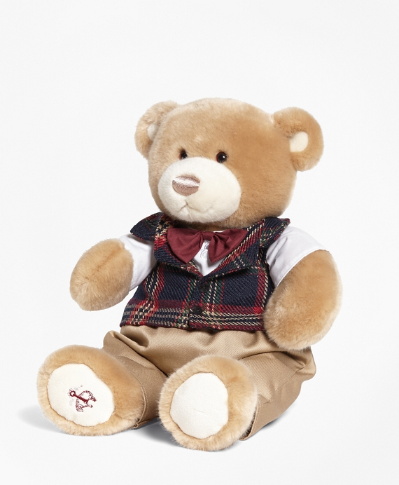 Brooksie® Holiday Bear Navy