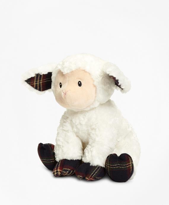 Gund® Tartan Stuffed Lamb Navy