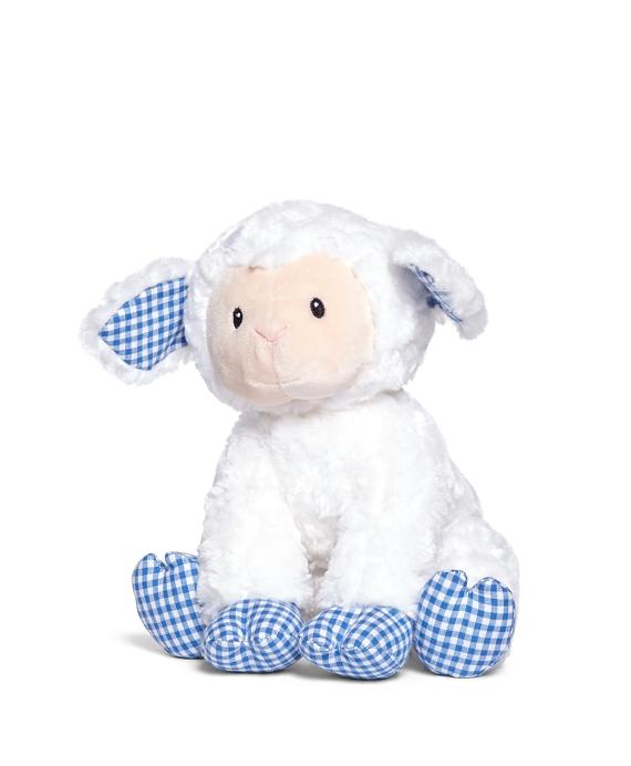 Gund® Gingham Stuffed Lamb Blue