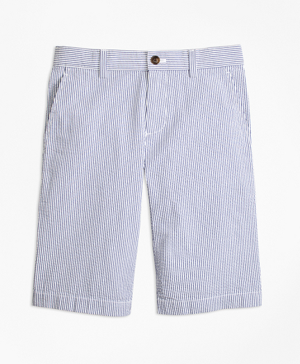 Boys Seersucker Shorts