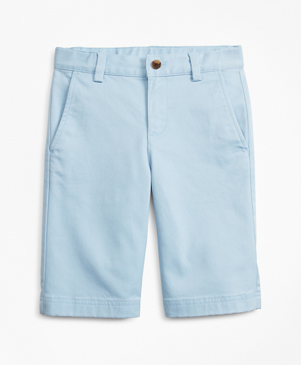 Boys Stretch-Cotton Chino Shorts