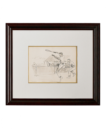 Paul Brown Limited Edition Lithographs - Tennis