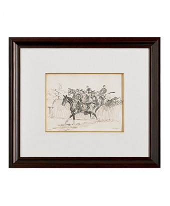 Paul Brown Limited Edition Lithographs - Steeplechase