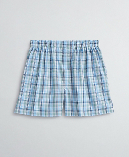 Plaid Cotton Broadcloth Boxers