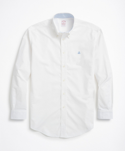Stretch Madison Relaxed-Fit Sport Shirt, Non-Iron Oxford