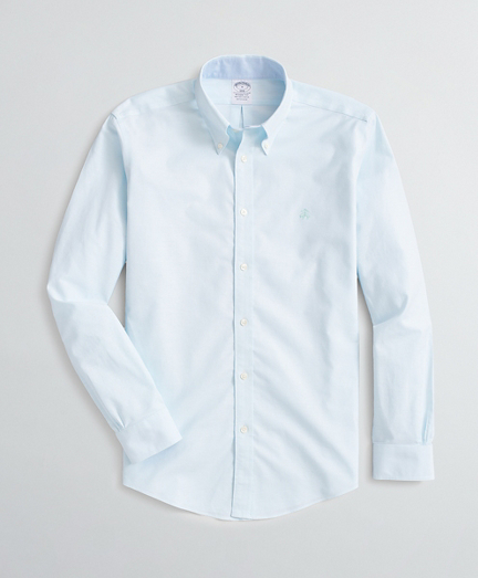 Brooksbrothers Stretch Regent Fit Sport Shirt, Non-Iron Oxford