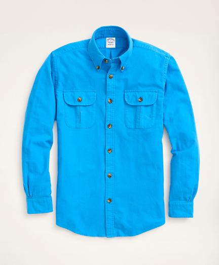 Regent Regular-Fit Archive Chamois Shirt