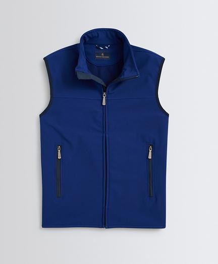 Fleece-Lined Water-Repellent Vest