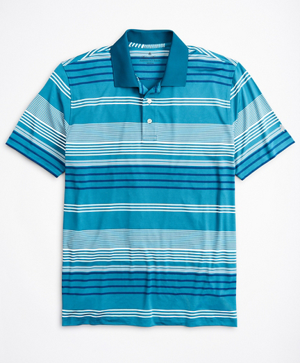 Performance Series Triple-Stripe Polo Shirt