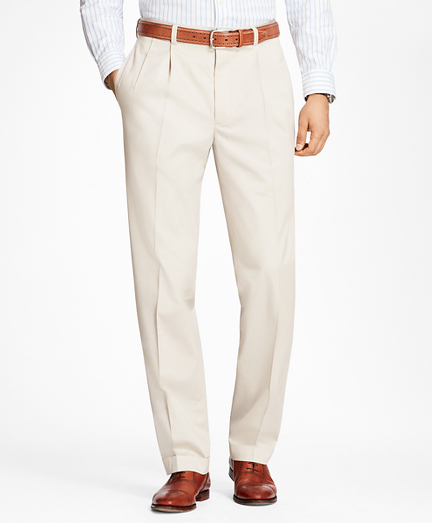 Elliot Fit Pleat-Front Lightweight Advantage Chino® Pants
