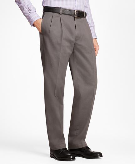 Elliot Fit Pleat-Front Advantage Chino® Pants