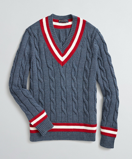 Wool Tennis Sweater