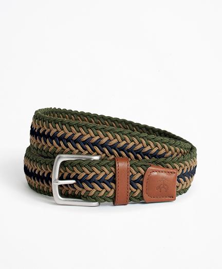 Tri-Color Stretch Belt