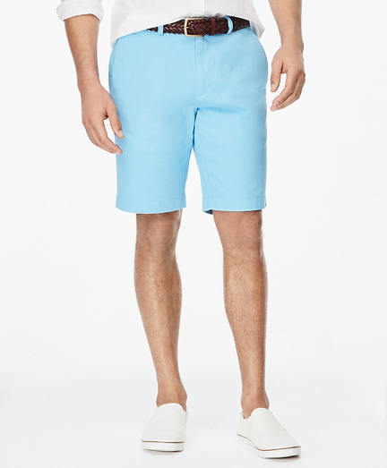 "Washed Chino 10"" Bermuda Shorts"