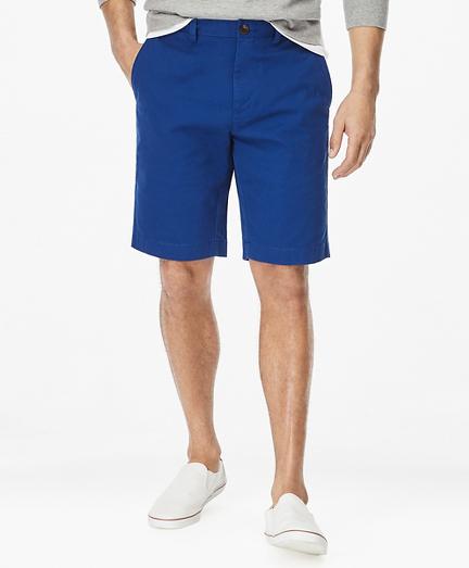 "Washed Chino 10"" Bermuda Shorts"