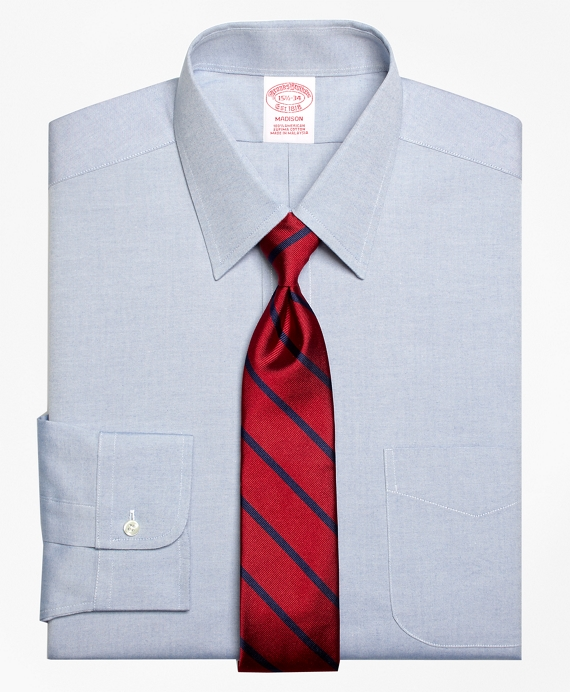 Madison Classic-Fit Dress Shirt, Forward Point Collar Blue