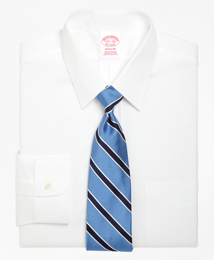 Brooksbrothers Madison Classic-Fit Dress Shirt, Forward Point Collar