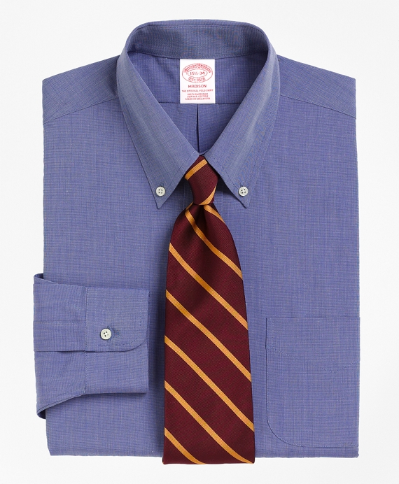 Madison Classic-Fit Dress Shirt, Button-Down Collar Blue