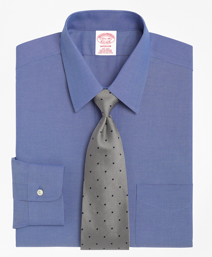 Madison Relaxed-Fit Dress Shirt, Non-Iron Point Collar