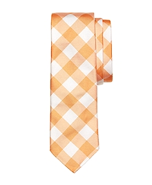 Large Gingham Tie