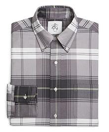 Tartan Oxford Button-Down Shirt