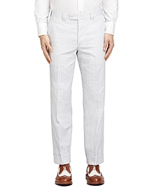 Gingham Belt Loop Trousers