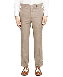 Check Belt Loop Trousers