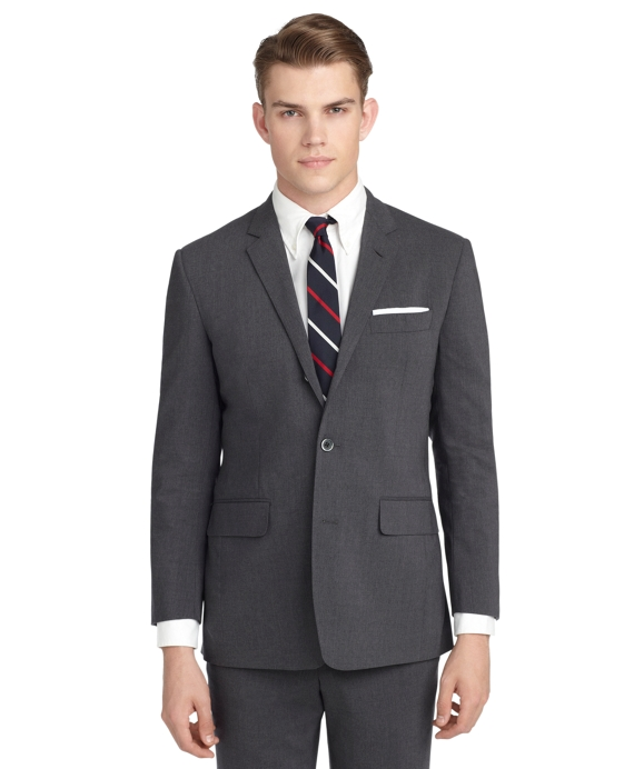 CHARCOAL SUIT - Brooks Brothers