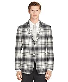 Grey Plaid Sport Jacket