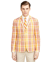 Madras Cut-Away Sport Coat