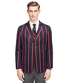 Repp Stripe Sport Coat
