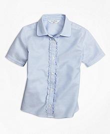 Non-Iron Short-Sleeve Oxford