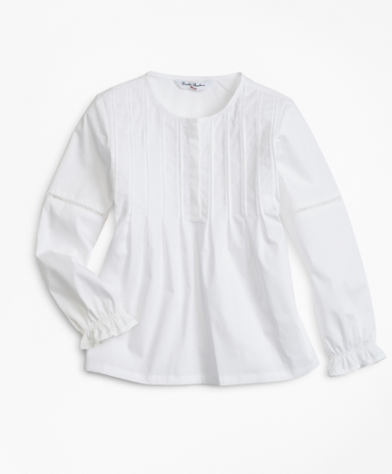 Girls Cotton Poplin Blouse