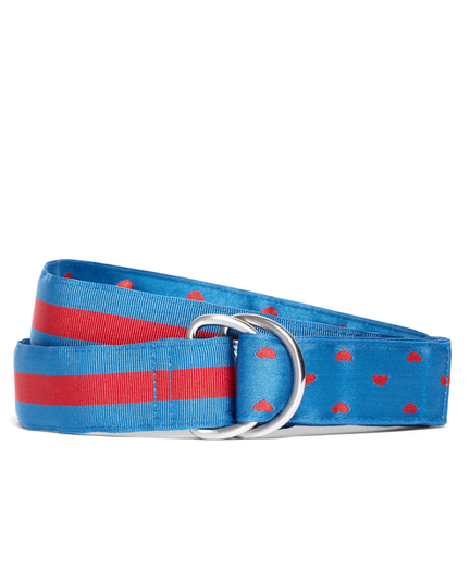 Girls Reversible Ribbon Belt