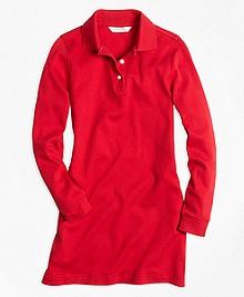Long-Sleeve Polo Dress
