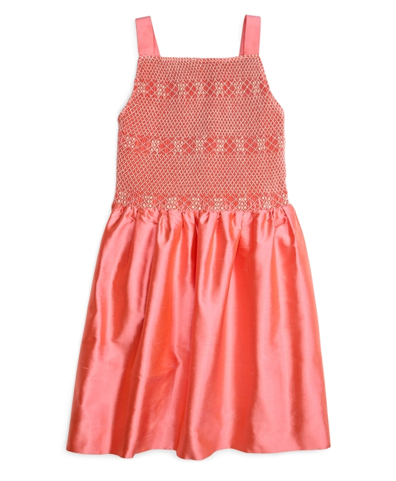 Girls Smocked Tank Dress Watermelon