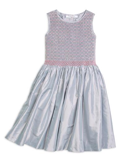 Sleeveless Smocked Dress
