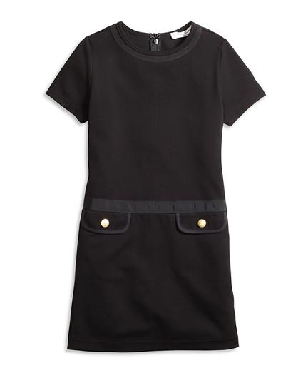 Girls Knit Ponte Dress