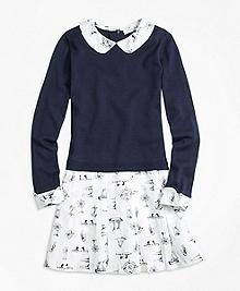 Mixed Media Supima® Sweater Dress