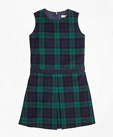 Velvet Black Watch Dress