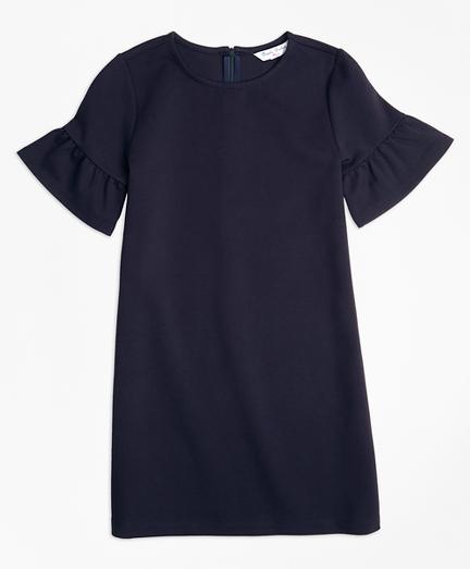 Girls Ponte Shift Dress