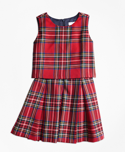 Holiday Tartan Dress