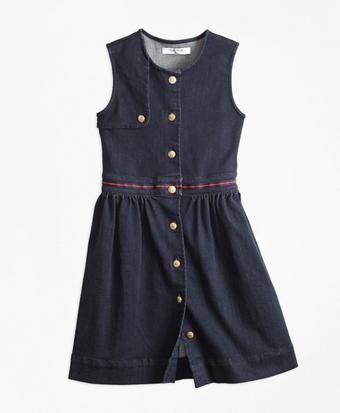 Girls Denim Dress