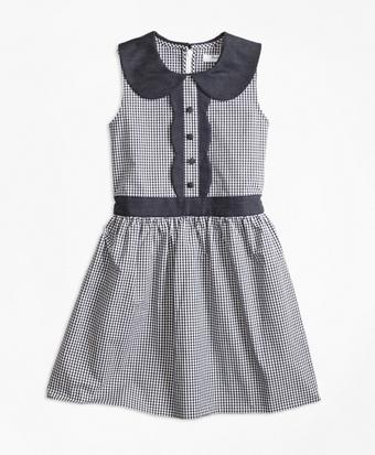 Girls Gingham Dress