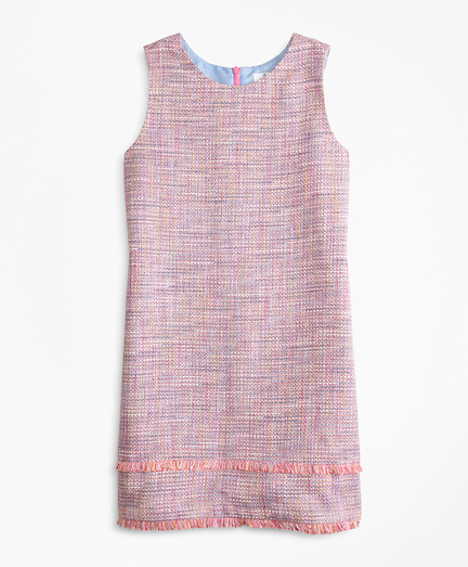 Girls Boucle Dress