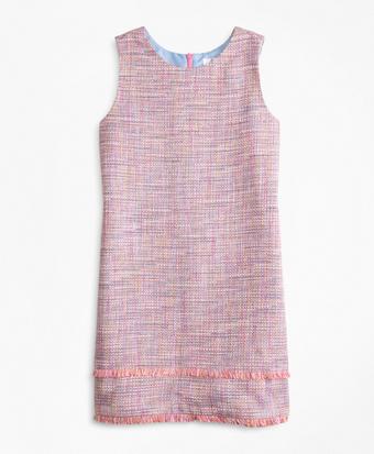 Girls Boucle Dress