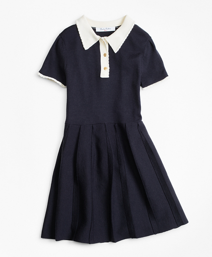 Girls Merino Wool-Blend Sweater Dress