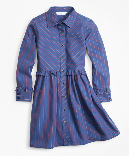 Girls Cotton Shirt Dress