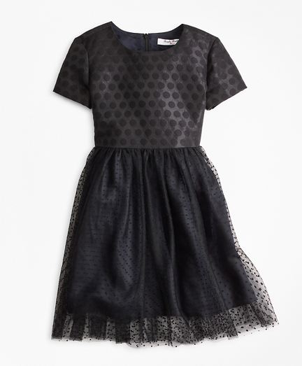 Girls Polka Dot Tulle Dress