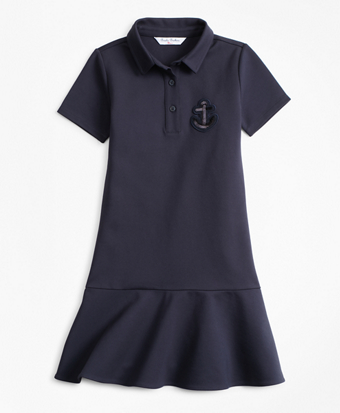 Girls Knit Ponte Dress